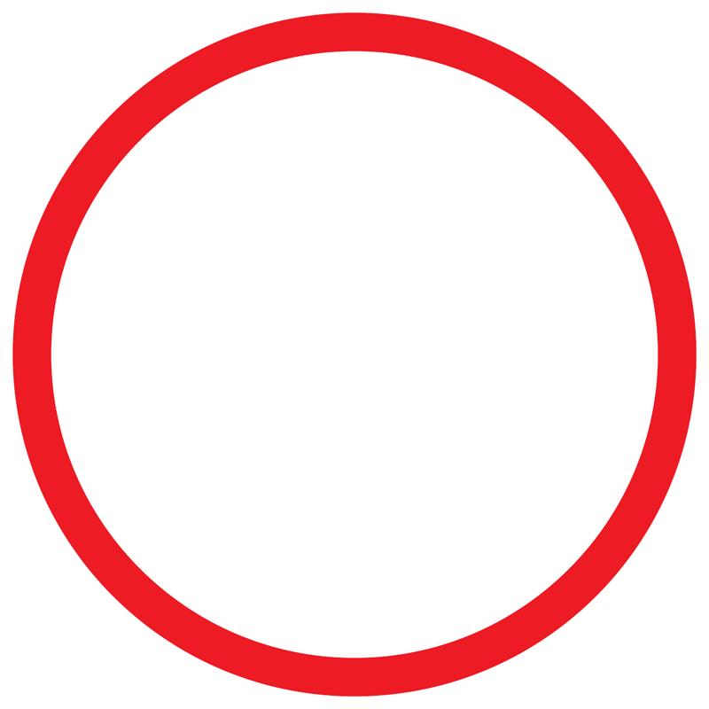 تصویر 6- دایره در محیط آنالوگ
